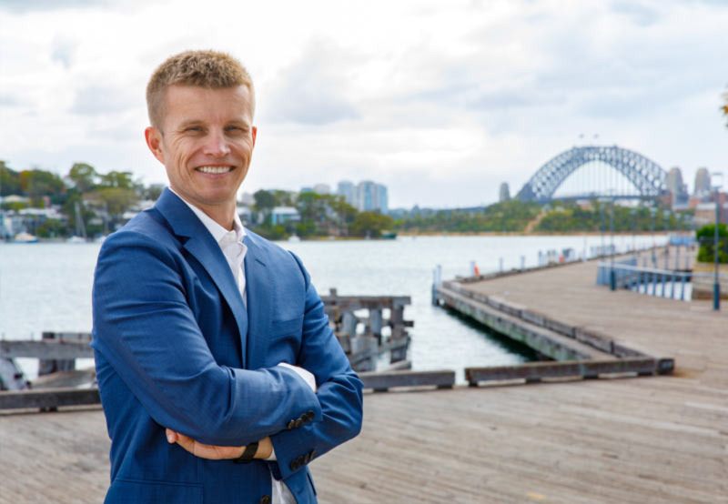 Newcastle Buyers Agent and Aus Property Professionals Owner, Lloyd Edge